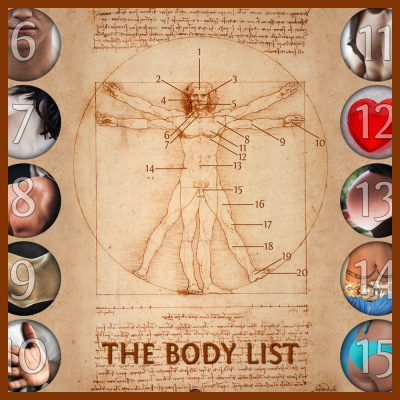 The Body List Info Cards