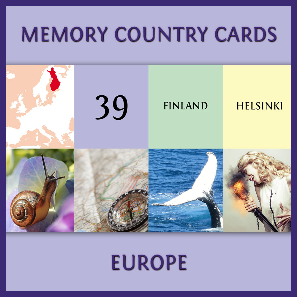 Country Cards: Europe Edition