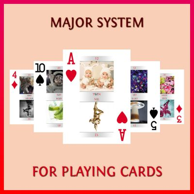 Major System For Playing Cards